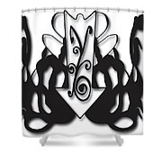 Vtci Logo Shower Curtain