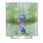 Beauty Is Subjective Shower Curtain by Ivana Westin