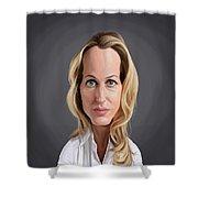 Celebrity Sunday - Gillian Anderson Shower Curtain