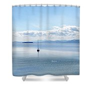 Sailboat Resting Shower Curtain