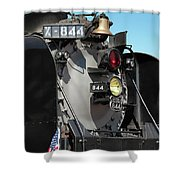 Up 844 With Friends Shower Curtain