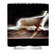 Running Doe Shower Curtain