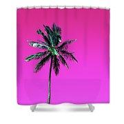 Palm Tree Puerto Rico Shower Curtain