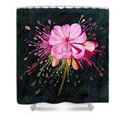 Color Eruption  Shower Curtain by Ivana Westin