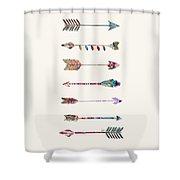 7 Arrows Shower Curtain