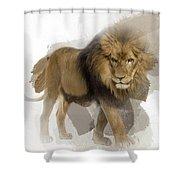 Lion Lion Lion Shower Curtain