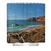 Praia Do Amado, Portugal Shower Curtain
