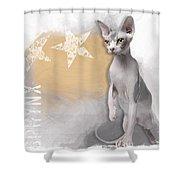 Sphynx No 04 Shower Curtain