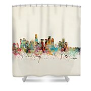 Los Angeles California Shower Curtain