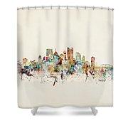 Pittsburgh Pennsylvania Shower Curtain