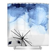 Stormy Weather II Shower Curtain