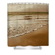The Divine Music Of Love Shower Curtain