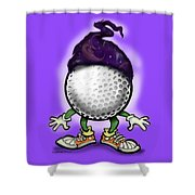 Golf Wizard Shower Curtain