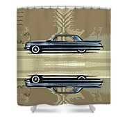 1961 Cadillac Fleetwood Sixty-special Shower Curtain by Bruce Stanfield