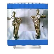 , Conserve The Planets Water  Shower Curtain