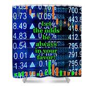 Stock Exchange Shower Curtain by Anastasiya Malakhova