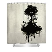 Last Tree Standing Shower Curtain