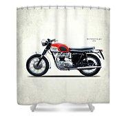 Triumph Bonneville 1966 Shower Curtain