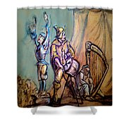 Gypsies Part 1 Shower Curtain