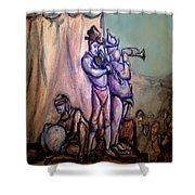 Gypsies Part 2 Shower Curtain