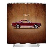 Ford Mustang Fastback 1965 Shower Curtain