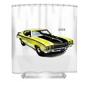 Buick Gsx 1971 Shower Curtain