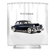 Chrysler New Yorker 1949 Shower Curtain