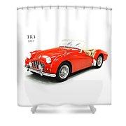 Triumph Tr3 1957 Shower Curtain