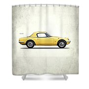 Lotus Elan 1963 Shower Curtain