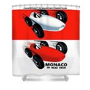 Monaco 1959 Shower Curtain