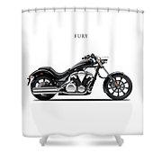 Honda Fury Shower Curtain