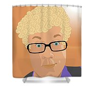 Artyom 2 Shower Curtain