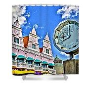 Aruba Time Shower Curtain