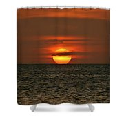 Arubian Sunset Shower Curtain