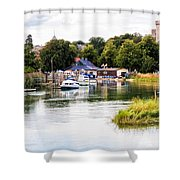 Arundel Shower Curtain by Trevor Wintle