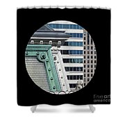 As A Bird Sees Philly Shower Curtain