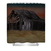 As Darkness Falls Shower Curtain