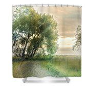 As Days Go By Shower Curtain