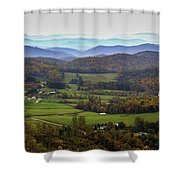 As Far As The Eyes Can See Shower Curtain