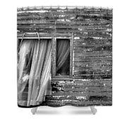 As If A Ghost Shower Curtain