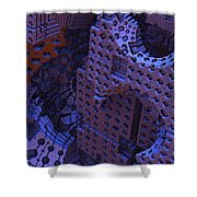 As Night Falls Shower Curtain