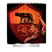 As Roma Painting Shower Curtain
