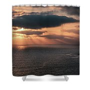 As The Day Ends Shower Curtain