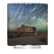 As The Stars Passed By  Shower Curtain