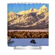 As The Sun Comes Up Shower Curtain