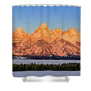 As The Sun Rises Shower Curtain