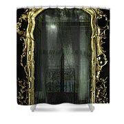 As Through A Glass Darkly  Shower Curtain