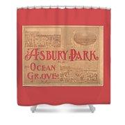 Asbury Park And Ocean Grove Shower Curtain