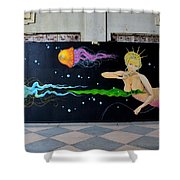 Asbury Park Art 2 Shower Curtain