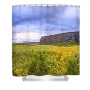 Asbyrgi Canyon Shower Curtain